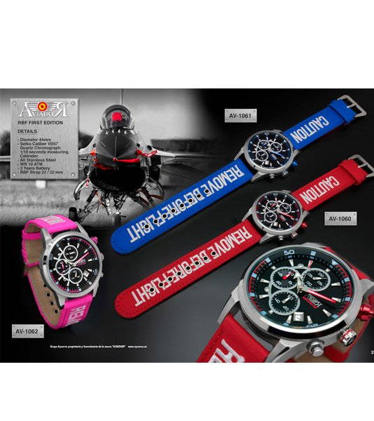 "ficha-producto-regalo-bordado-personalizado-Reloj Aviador ""Remove Before Flight"" crono"